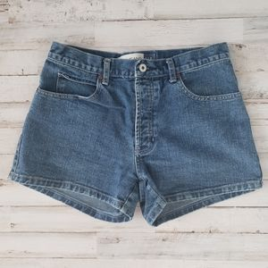 GAP Mom Denim Shorts